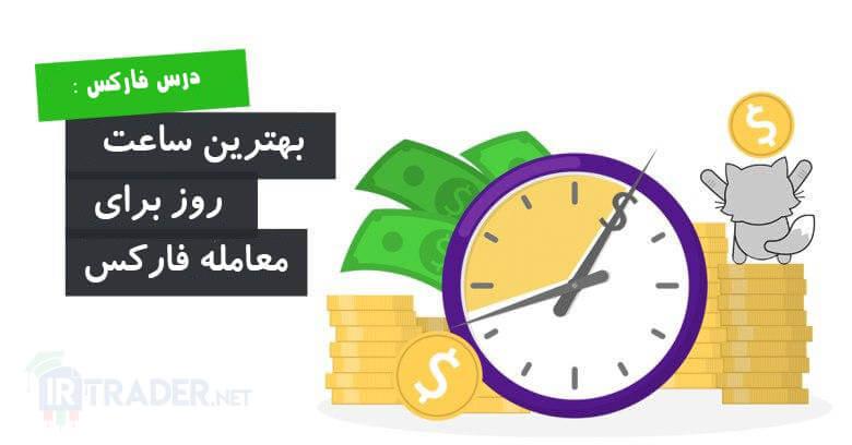 بهترین ساعت روز برای معامله در فارکس