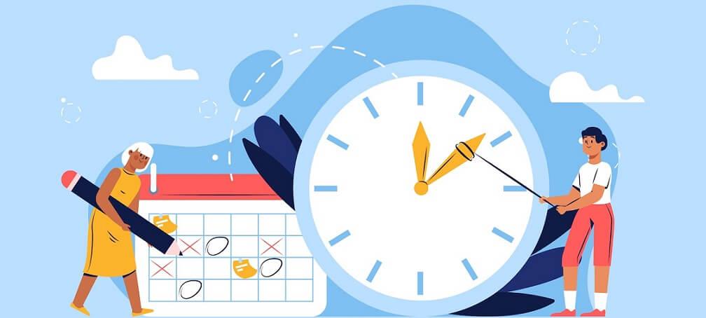 مدیریت زمان در فارکس