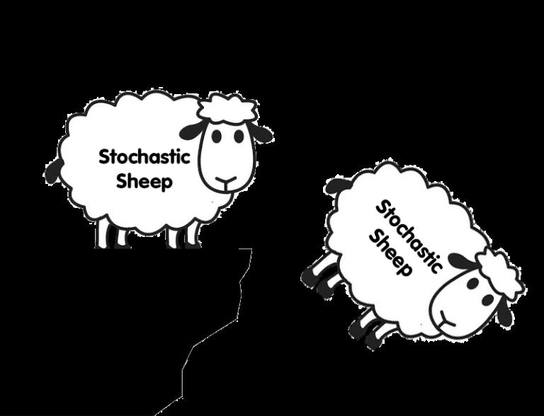 گوسفند های استوکاستیک